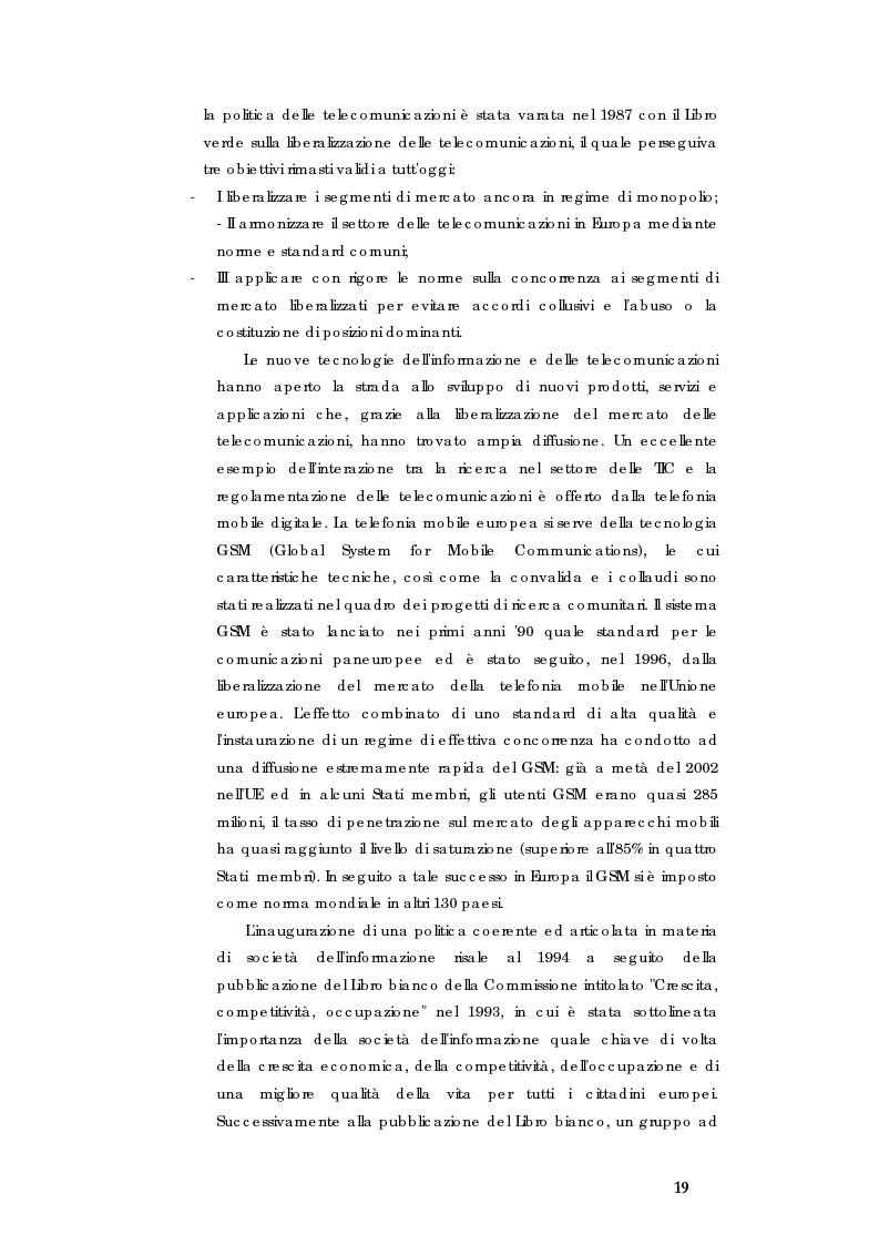 Anteprima della tesi: E-government e Società dell'informazione, Pagina 12