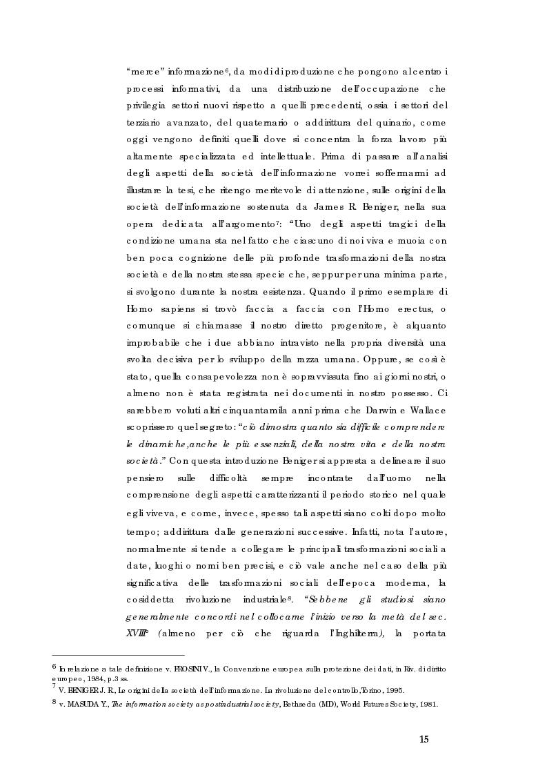 Anteprima della tesi: E-government e Società dell'informazione, Pagina 8