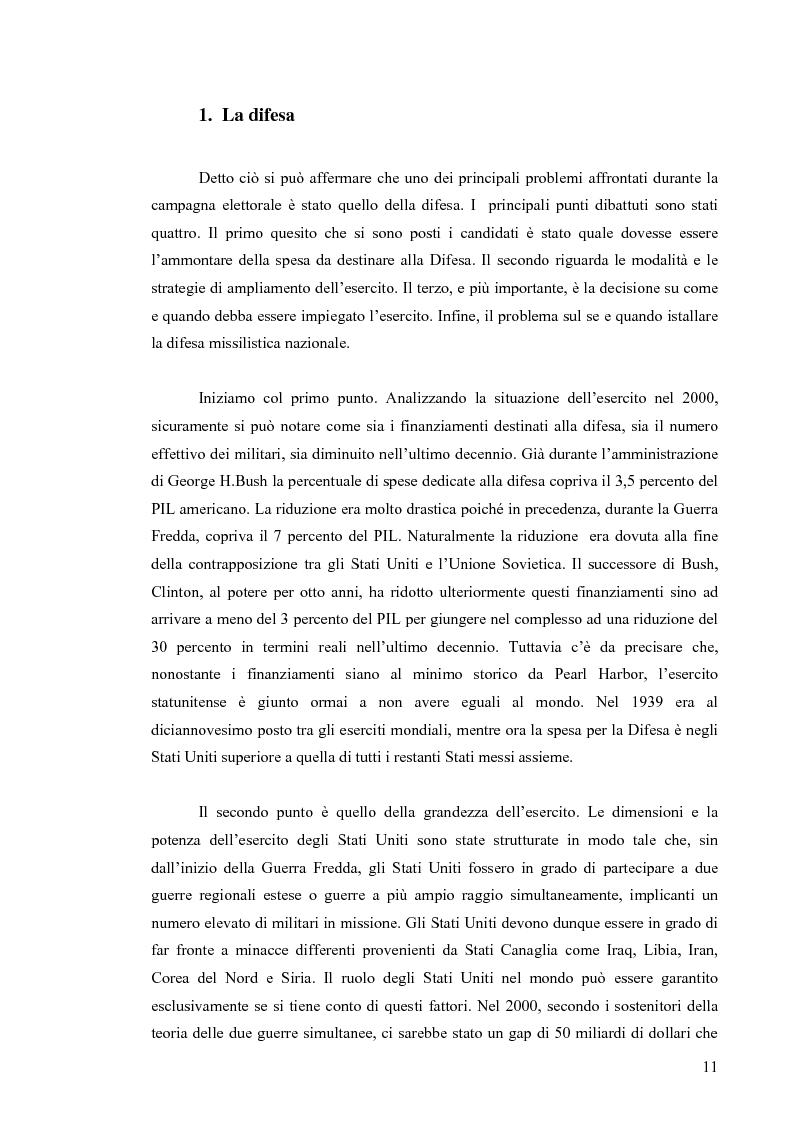 Anteprima della tesi: La Strategia di Sicurezza Nazionale di George Walker Bush, Pagina 7