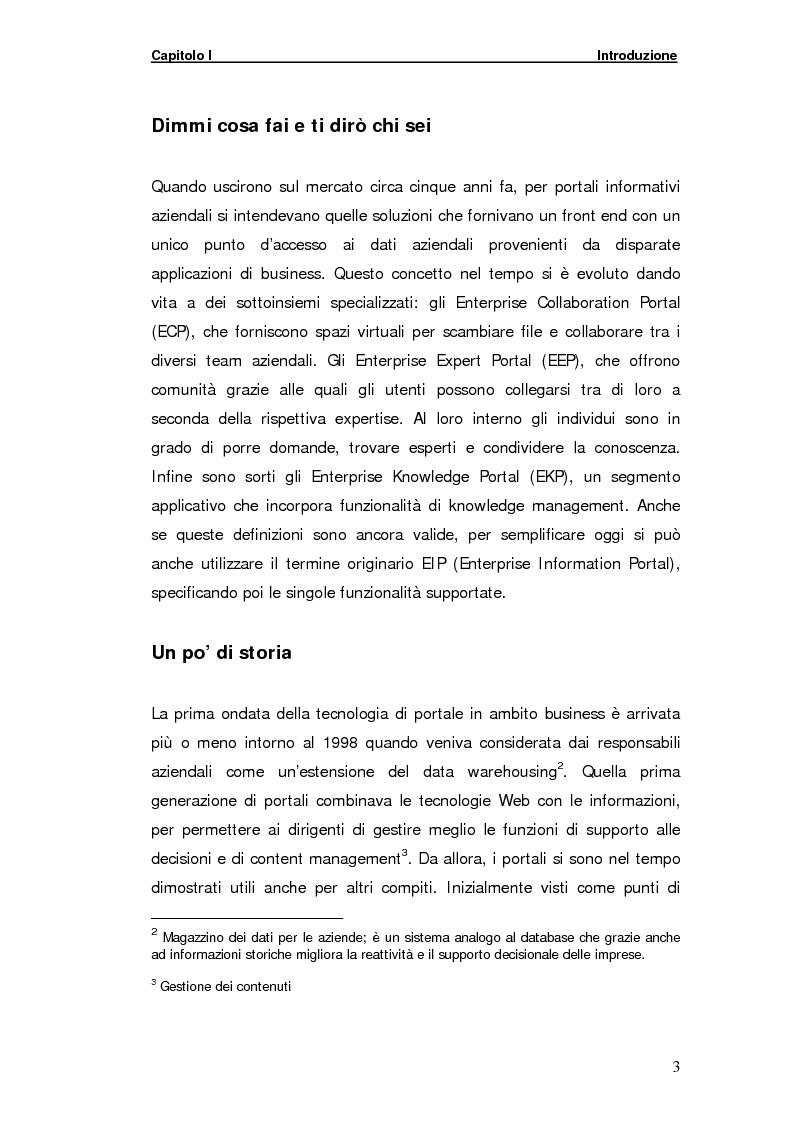 Anteprima della tesi: La gestione della comunicazione istantanea in un portale della conoscenza, Pagina 3