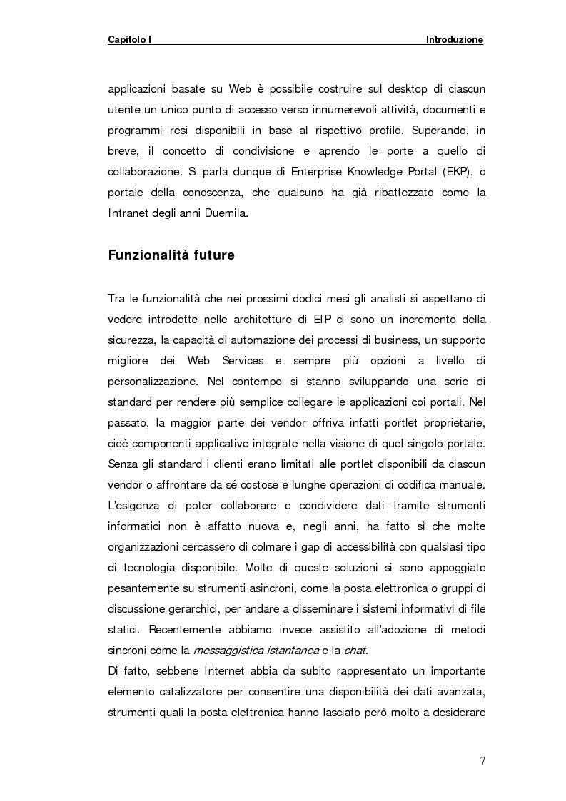 Anteprima della tesi: La gestione della comunicazione istantanea in un portale della conoscenza, Pagina 7
