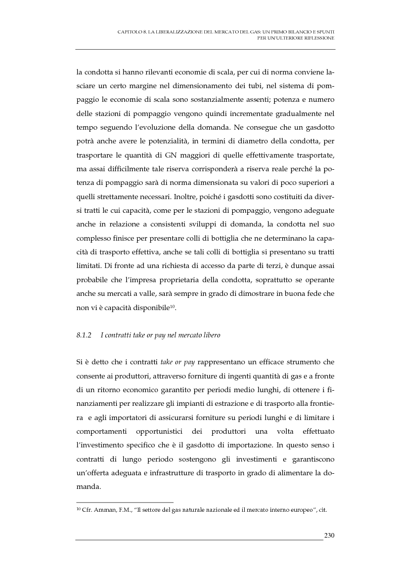 Anteprima della tesi: La liberalizzazione del mercato del gas naturale in Italia e nell'Unione europea. Regolamentazione, prospettive competitive e nuovi assetti strutturali dell'industria di settore, Pagina 13