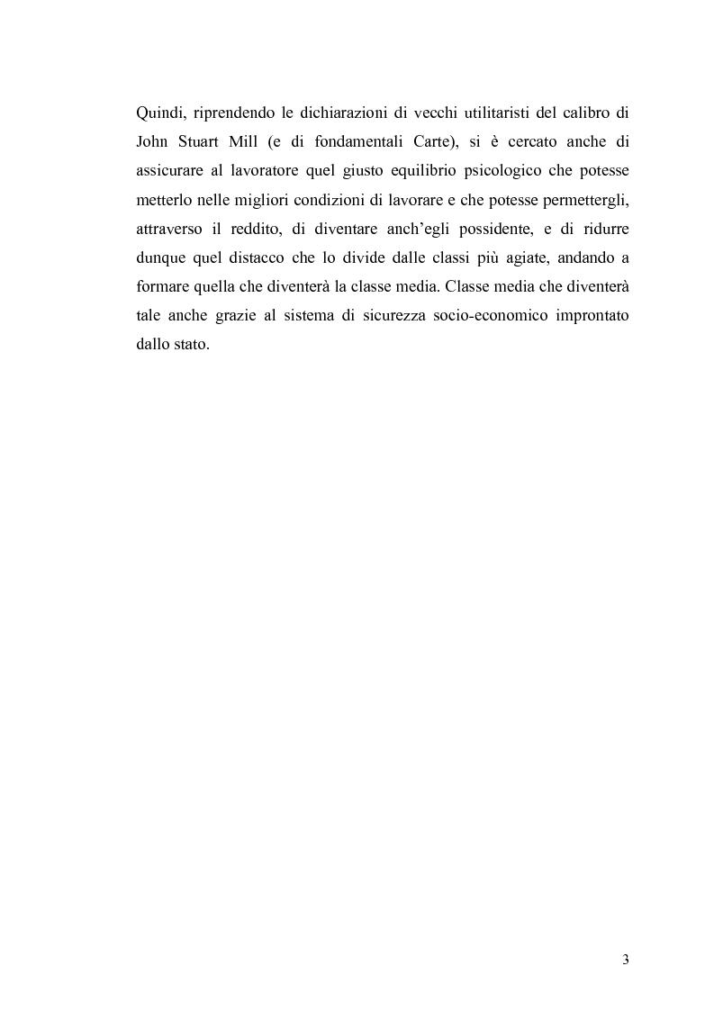 Anteprima della tesi: Le contraddizioni dei moderni welfare states e la riflessione di Ralf Dahrendorf, Pagina 3
