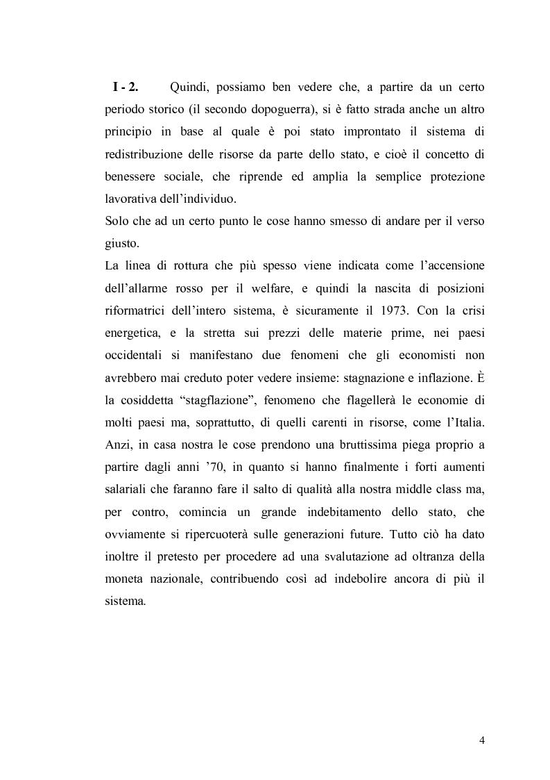 Anteprima della tesi: Le contraddizioni dei moderni welfare states e la riflessione di Ralf Dahrendorf, Pagina 4