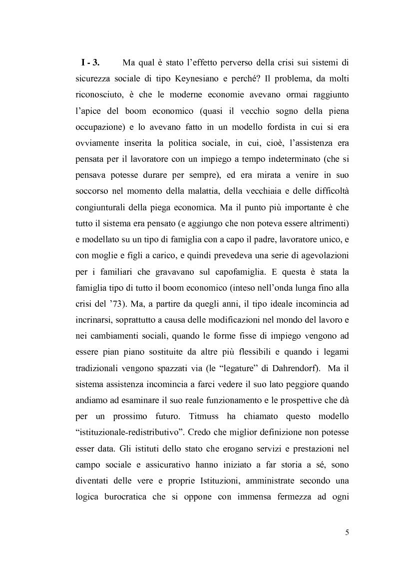 Anteprima della tesi: Le contraddizioni dei moderni welfare states e la riflessione di Ralf Dahrendorf, Pagina 5