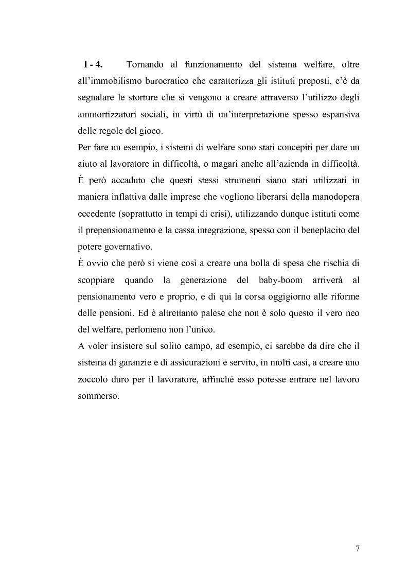 Anteprima della tesi: Le contraddizioni dei moderni welfare states e la riflessione di Ralf Dahrendorf, Pagina 7