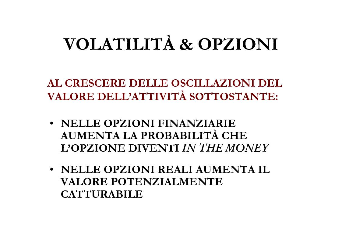 Anteprima della tesi: Il Valore Attuale Esteso - Casi applicativi per valutare progetti di investimento in presenza di incertezza, Pagina 12
