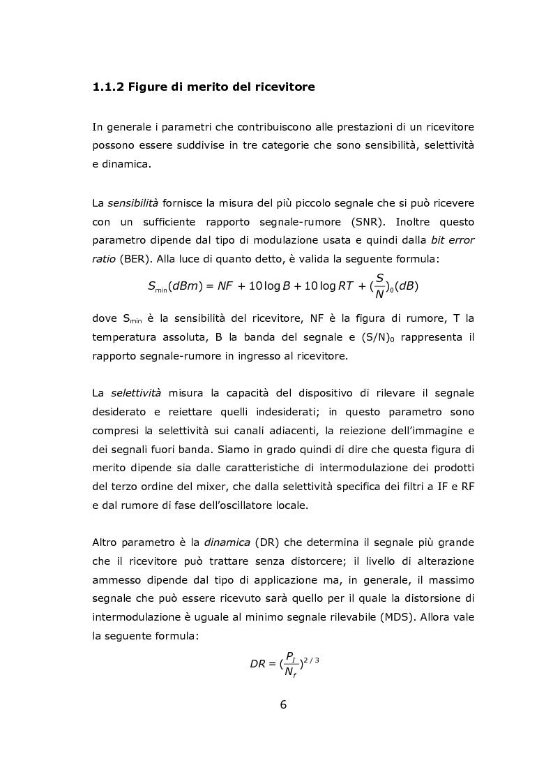 Anteprima della tesi: Progetto circuitale e di layout di un mixer semplicemente bilanciato operante a 13 GHz in tecnologia Si/SiGe BiCMOS a 0.35 micron, Pagina 6