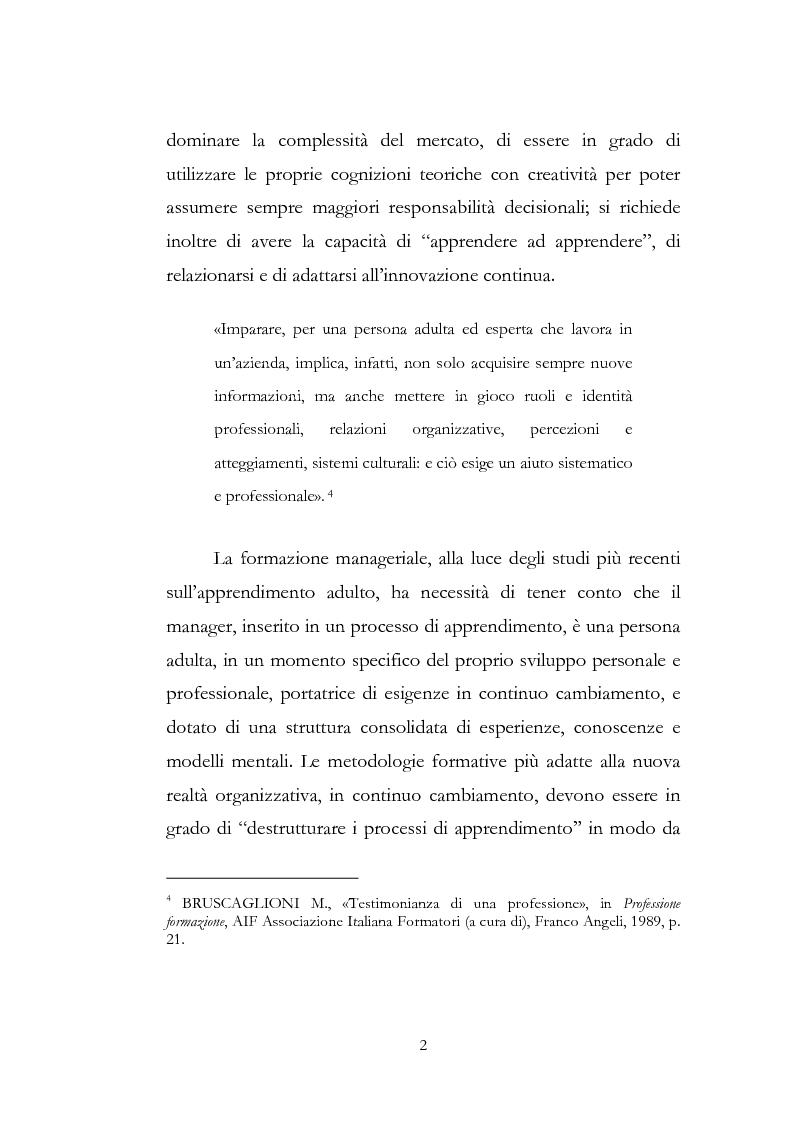 Anteprima della tesi: Outdoor training in Italia. Apprendere dall'esperienza le competenze manageriali., Pagina 2
