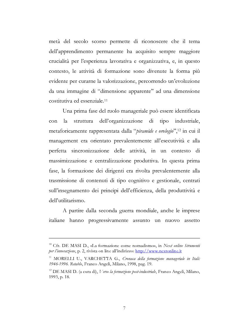Anteprima della tesi: Outdoor training in Italia. Apprendere dall'esperienza le competenze manageriali., Pagina 7