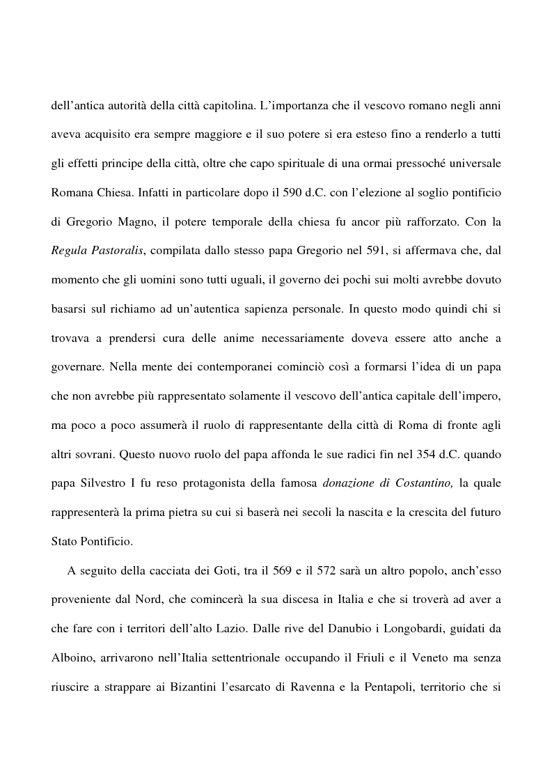 Anteprima della tesi: Saggio su alcuni documenti dell'abbazia di Farfa, Pagina 3