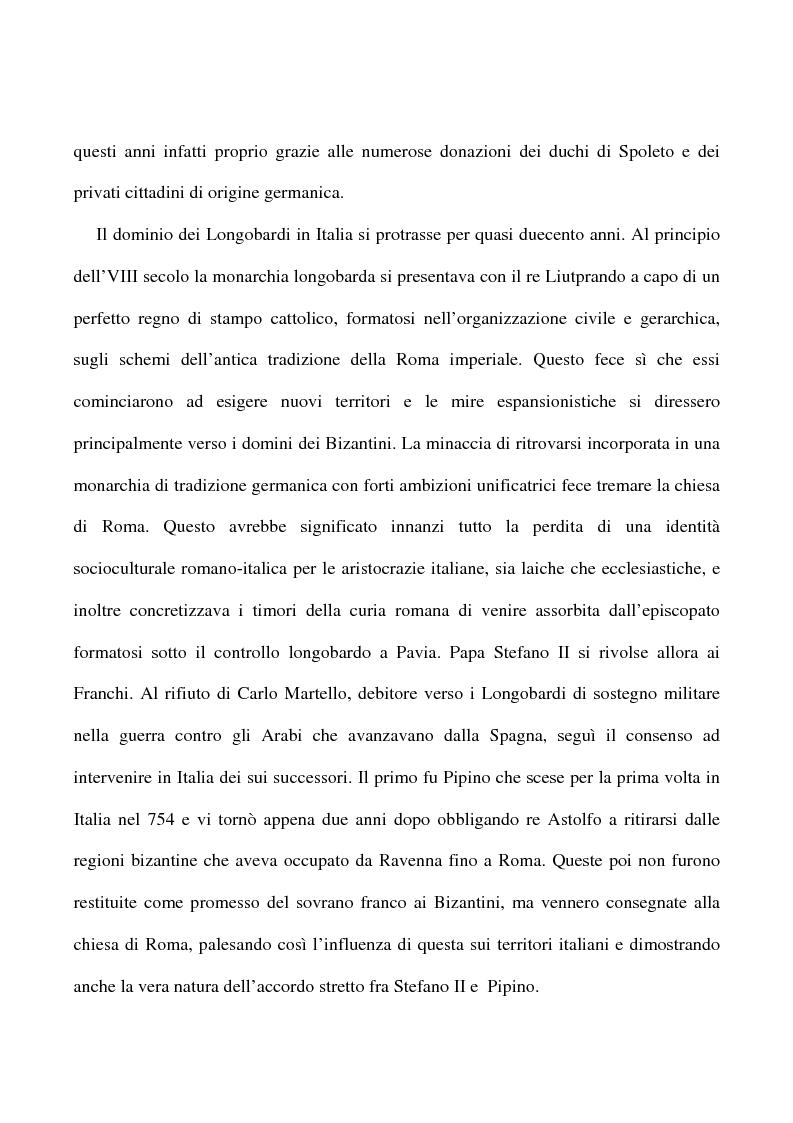 Anteprima della tesi: Saggio su alcuni documenti dell'abbazia di Farfa, Pagina 6