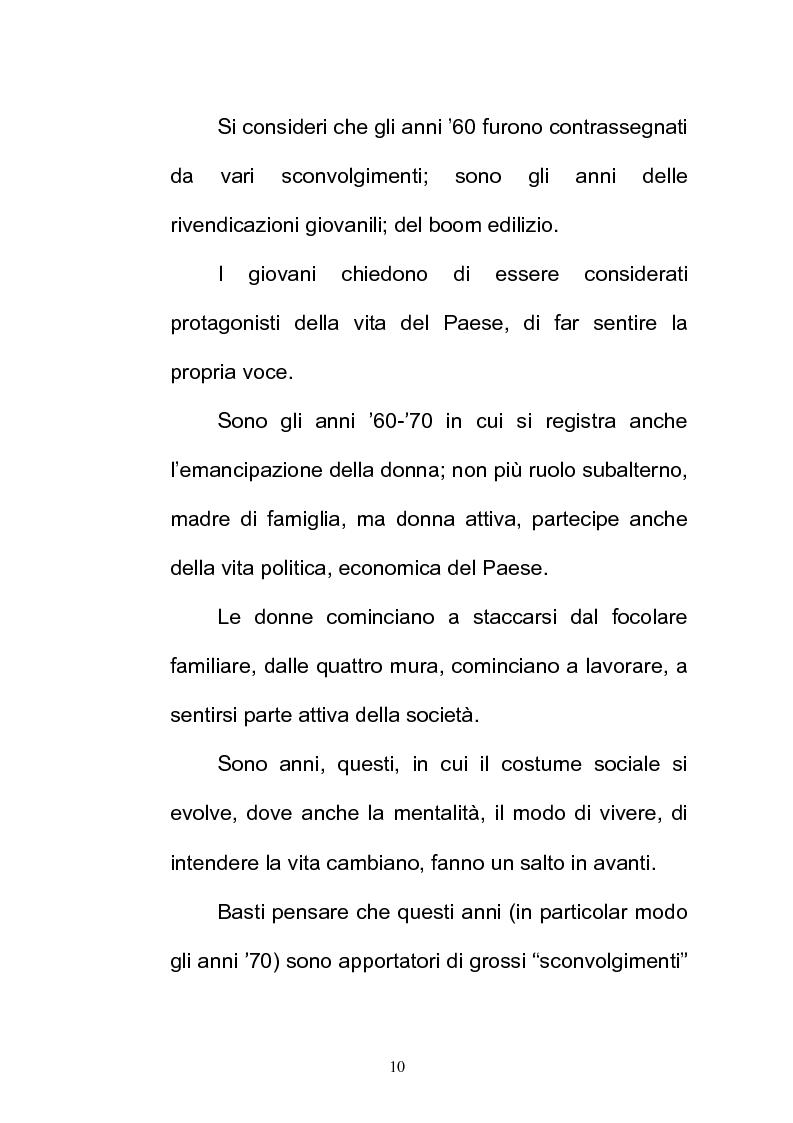 Anteprima della tesi: La FIAT 500 come metafora di un'Italia che cambia, Pagina 10