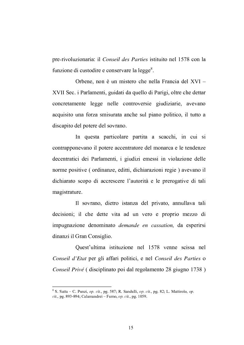Anteprima della tesi: Enunciazione del principio di diritto e decisione della causa nel merito, Pagina 11