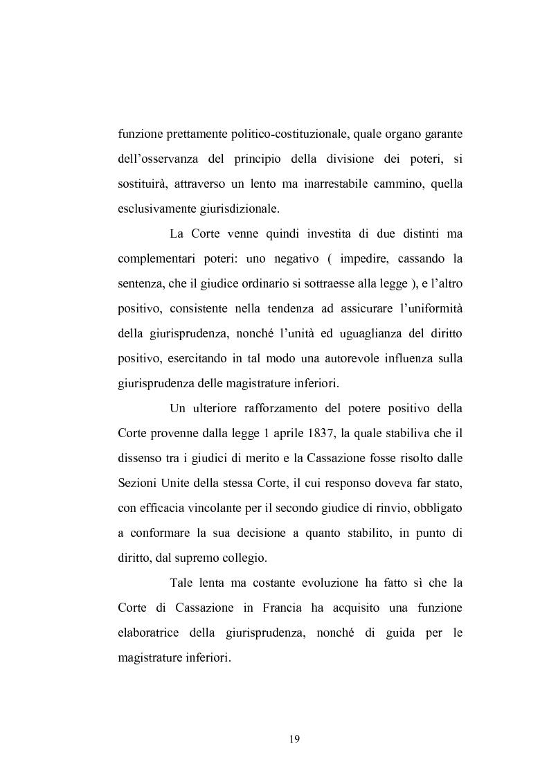 Anteprima della tesi: Enunciazione del principio di diritto e decisione della causa nel merito, Pagina 15