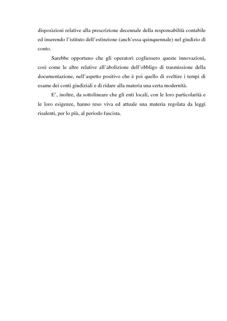 Anteprima della tesi: Attualità del giudizio di conto, Pagina 10