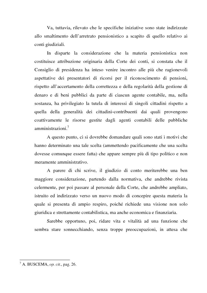 Anteprima della tesi: Attualità del giudizio di conto, Pagina 13