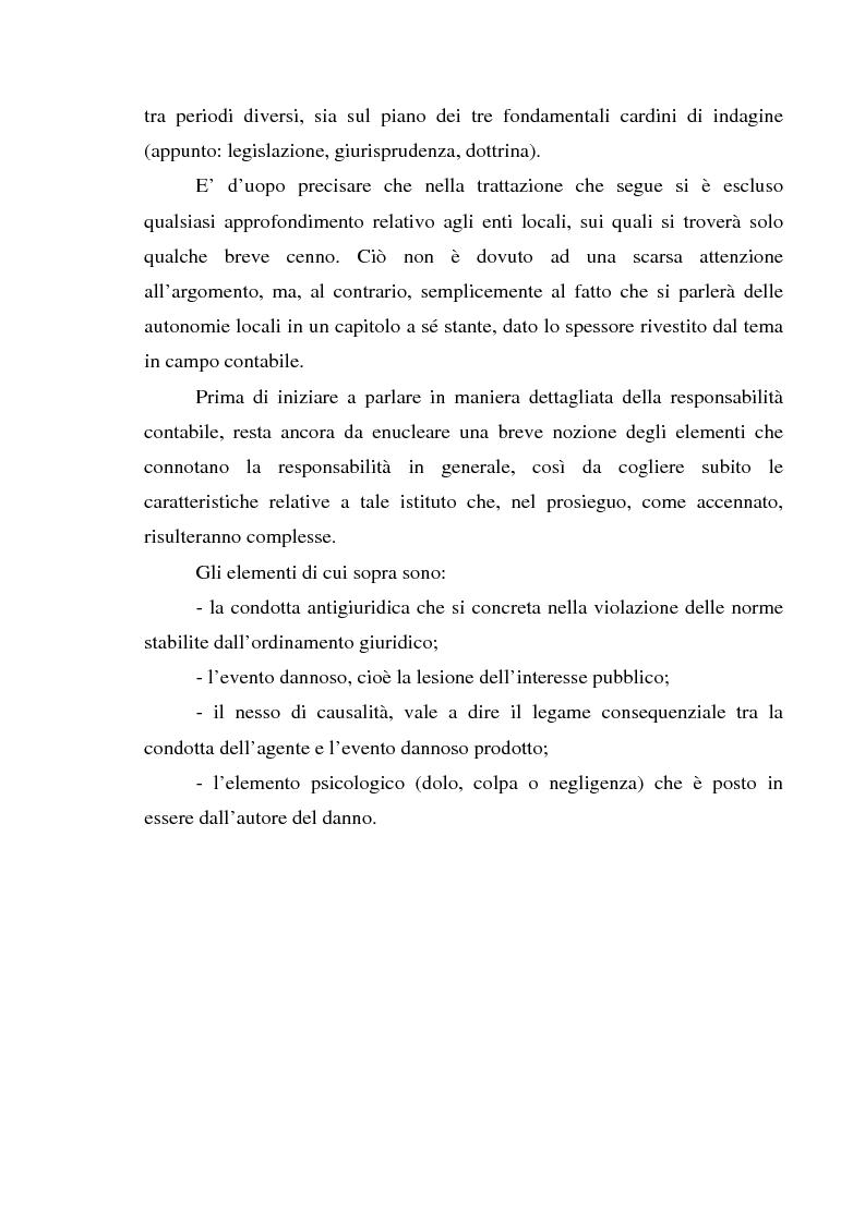 Anteprima della tesi: Attualità del giudizio di conto, Pagina 5