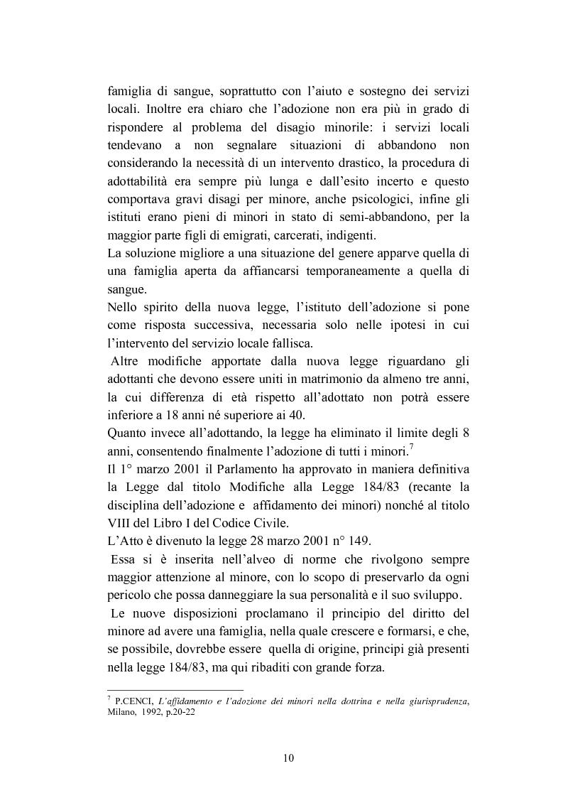 Anteprima della tesi: L'abbandono dei minori, Pagina 10