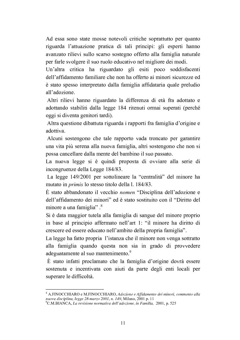 Anteprima della tesi: L'abbandono dei minori, Pagina 11