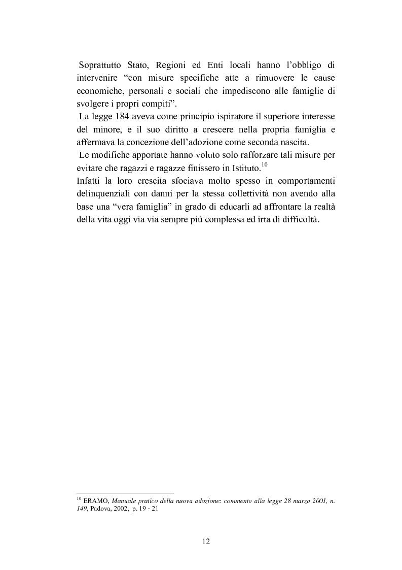Anteprima della tesi: L'abbandono dei minori, Pagina 12