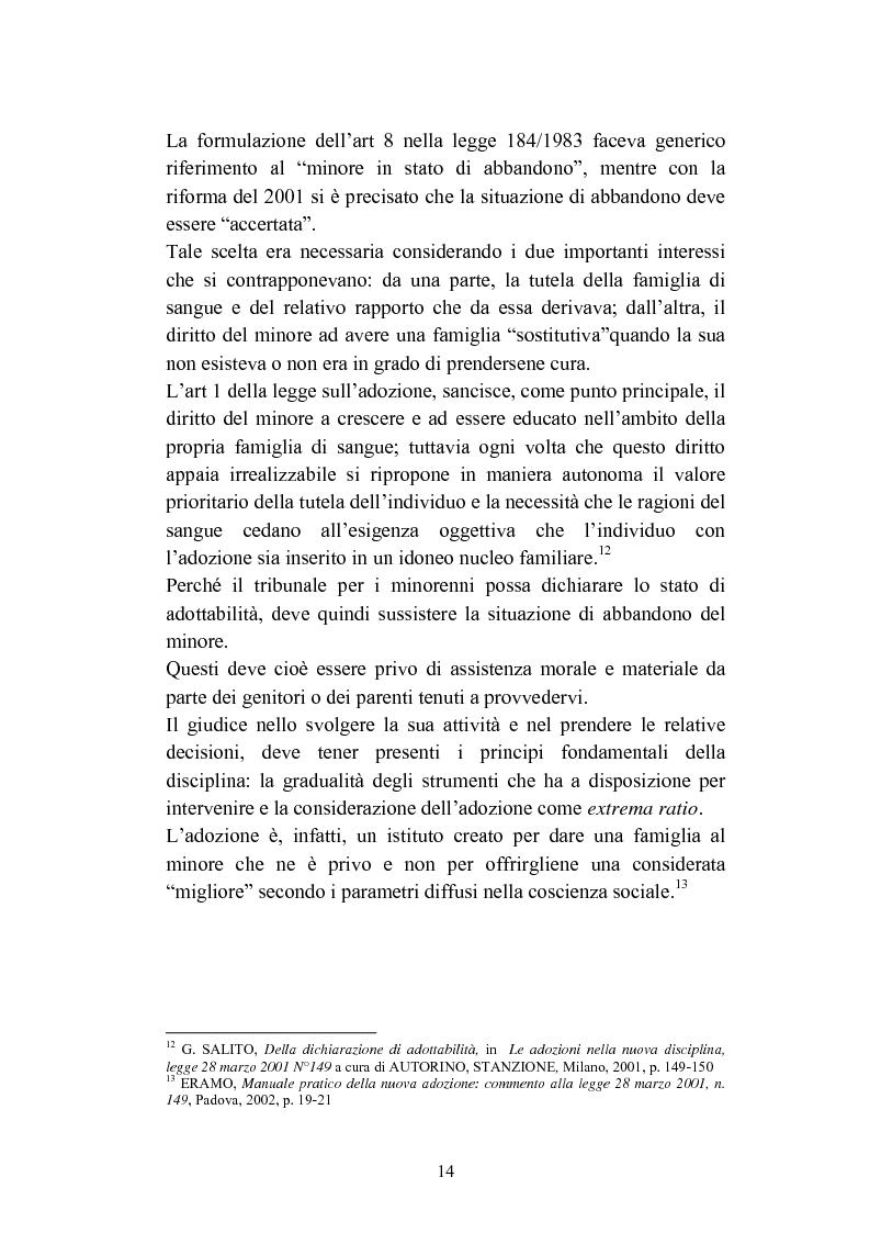 Anteprima della tesi: L'abbandono dei minori, Pagina 14
