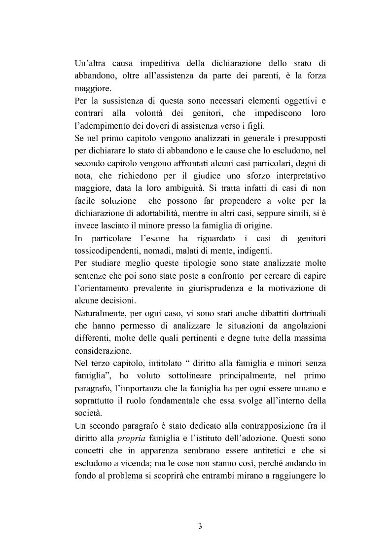 Anteprima della tesi: L'abbandono dei minori, Pagina 3