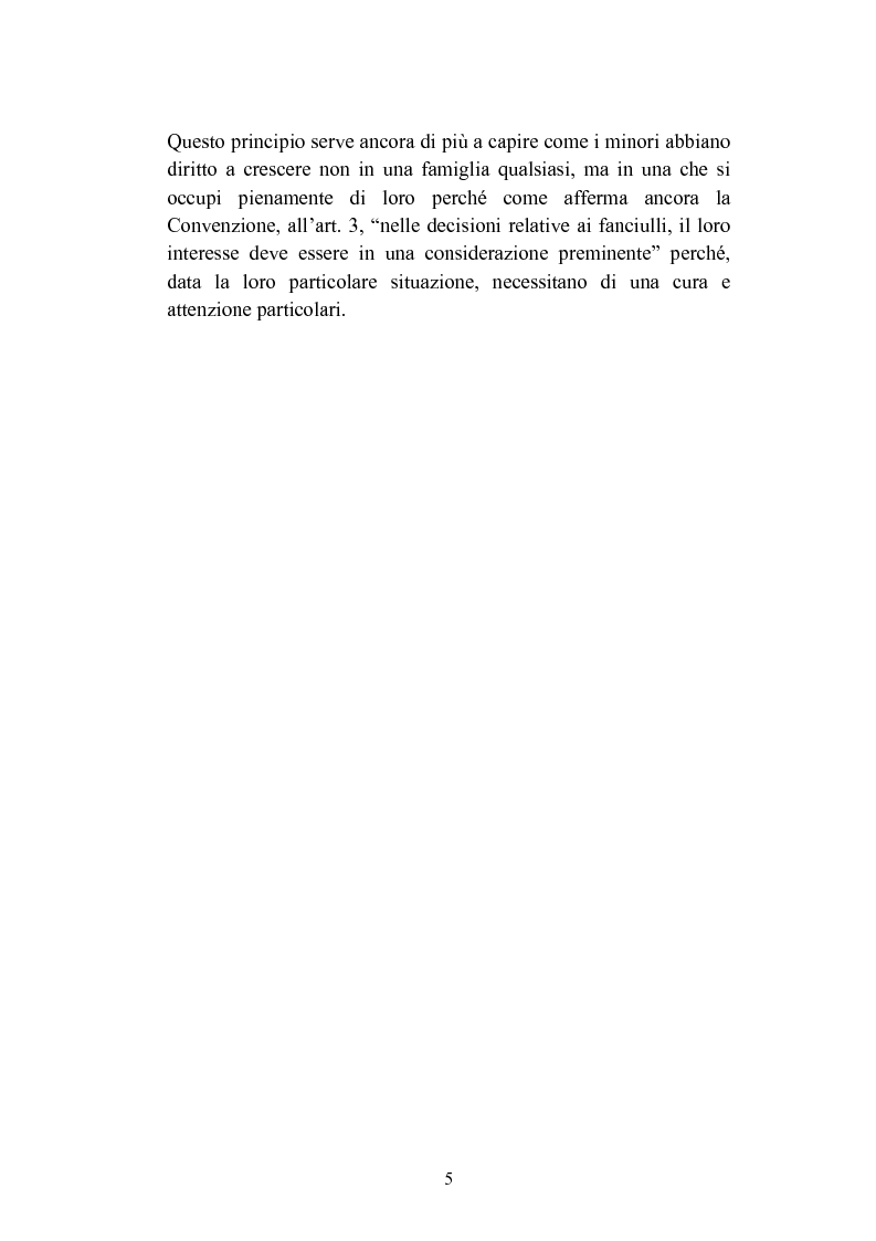 Anteprima della tesi: L'abbandono dei minori, Pagina 5