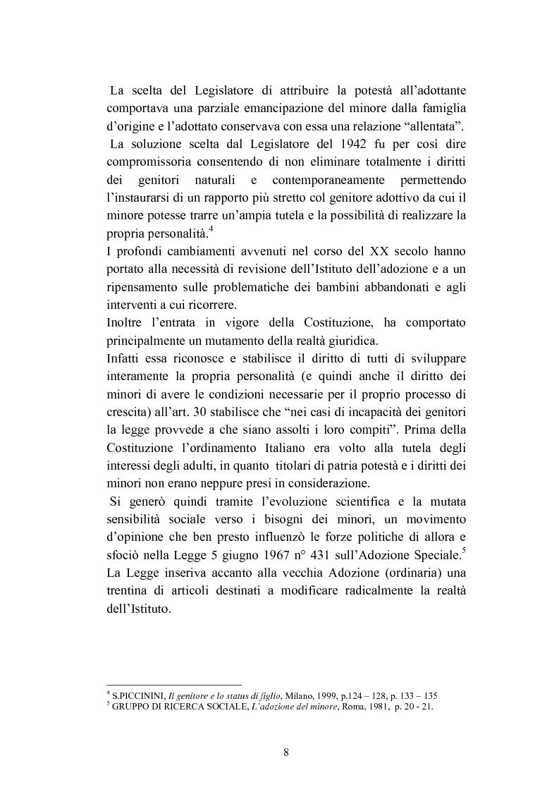 Anteprima della tesi: L'abbandono dei minori, Pagina 8