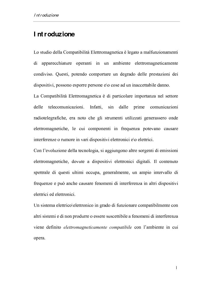Anteprima della tesi: Ripetibilità e riproducibilità nelle misure di immunità condotta su sistemi di acquisizione dati di tipo Pc-Based, Pagina 1