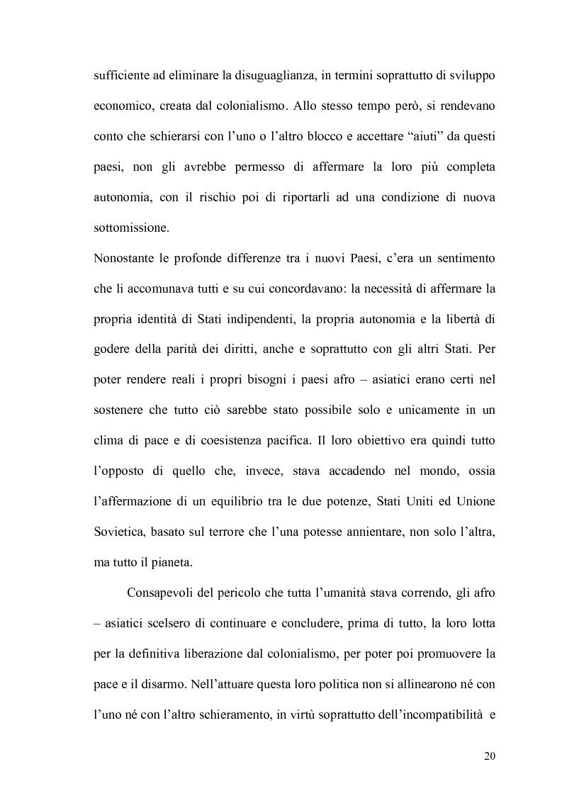Anteprima della tesi: Gli Stati dell'Africa Sub-Sahariana e la politica del non allineamento: dall'indipendenza alla caduta del muro di Berlino, Pagina 13