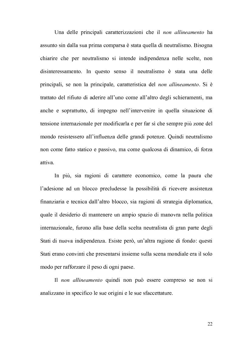 Anteprima della tesi: Gli Stati dell'Africa Sub-Sahariana e la politica del non allineamento: dall'indipendenza alla caduta del muro di Berlino, Pagina 15
