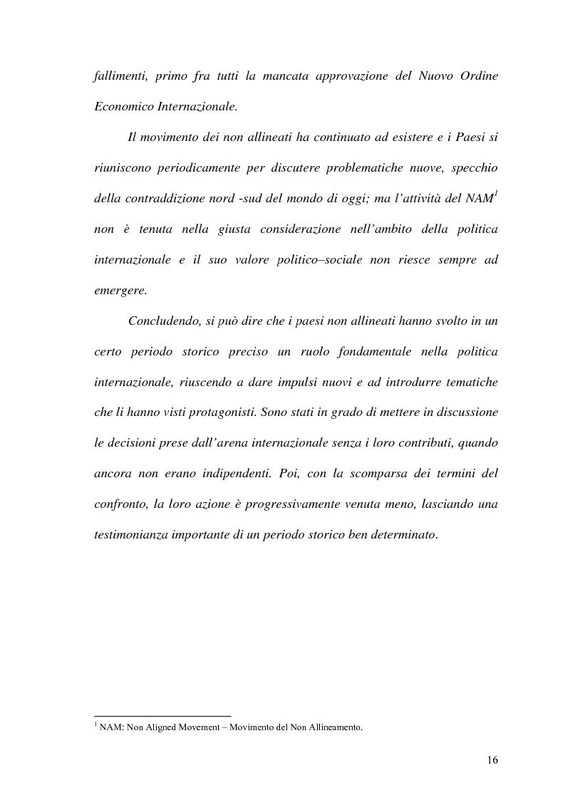 Anteprima della tesi: Gli Stati dell'Africa Sub-Sahariana e la politica del non allineamento: dall'indipendenza alla caduta del muro di Berlino, Pagina 9
