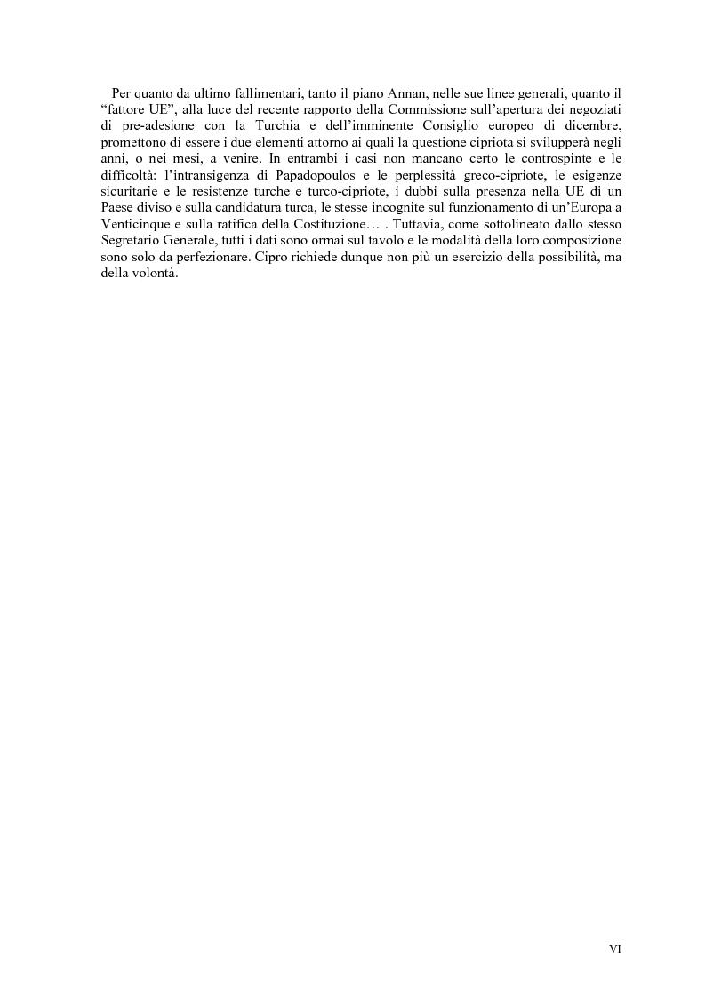 Anteprima della tesi: Storia diplomatica della questione cipriota e sua incidenza sui rapporti euro-turchi, Pagina 4