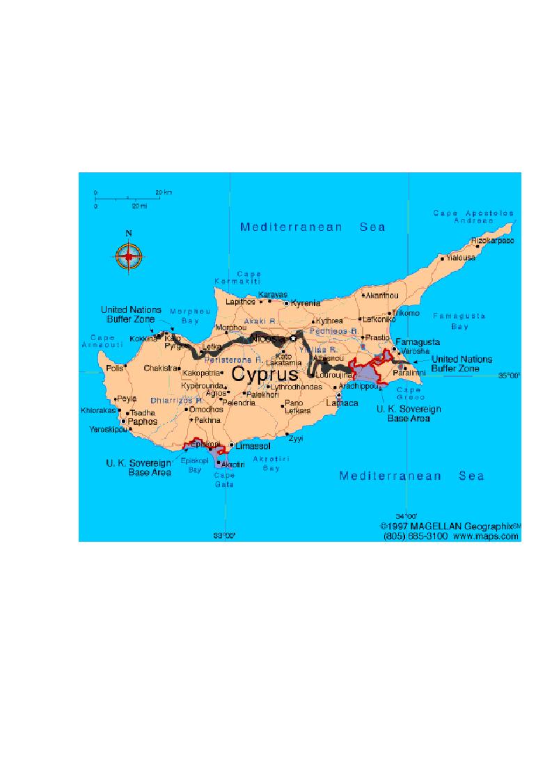 Anteprima della tesi: Storia diplomatica della questione cipriota e sua incidenza sui rapporti euro-turchi, Pagina 5