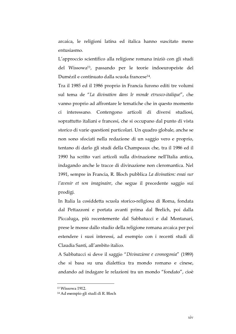 Anteprima della tesi: Sortes e oracoli nell'Italia antica, Pagina 12