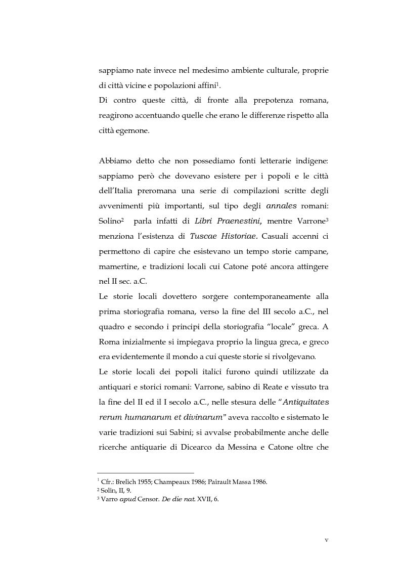 Anteprima della tesi: Sortes e oracoli nell'Italia antica, Pagina 3