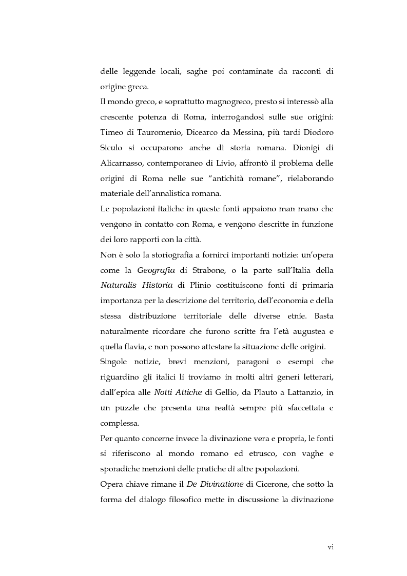 Anteprima della tesi: Sortes e oracoli nell'Italia antica, Pagina 4