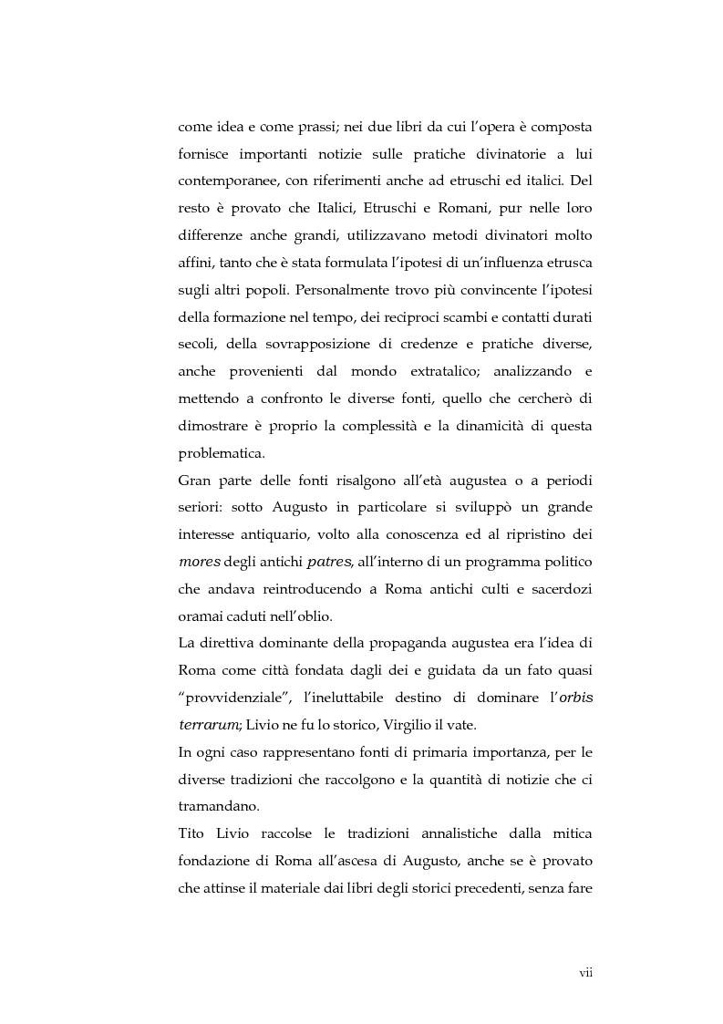 Anteprima della tesi: Sortes e oracoli nell'Italia antica, Pagina 5