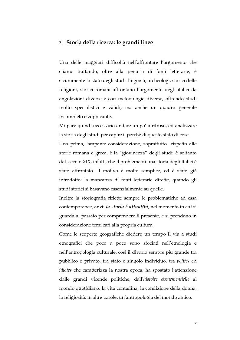 Anteprima della tesi: Sortes e oracoli nell'Italia antica, Pagina 8