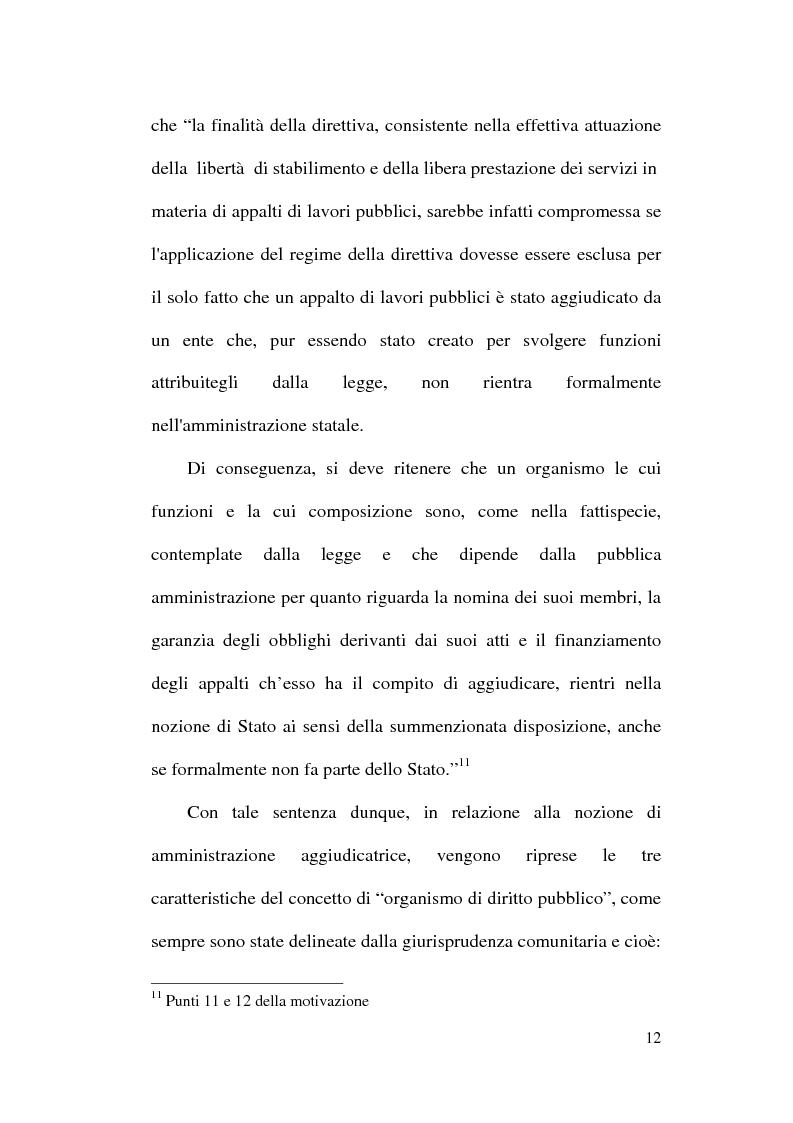 Anteprima della tesi: La normativa comunitaria in materia di appalti pubblici, Pagina 9