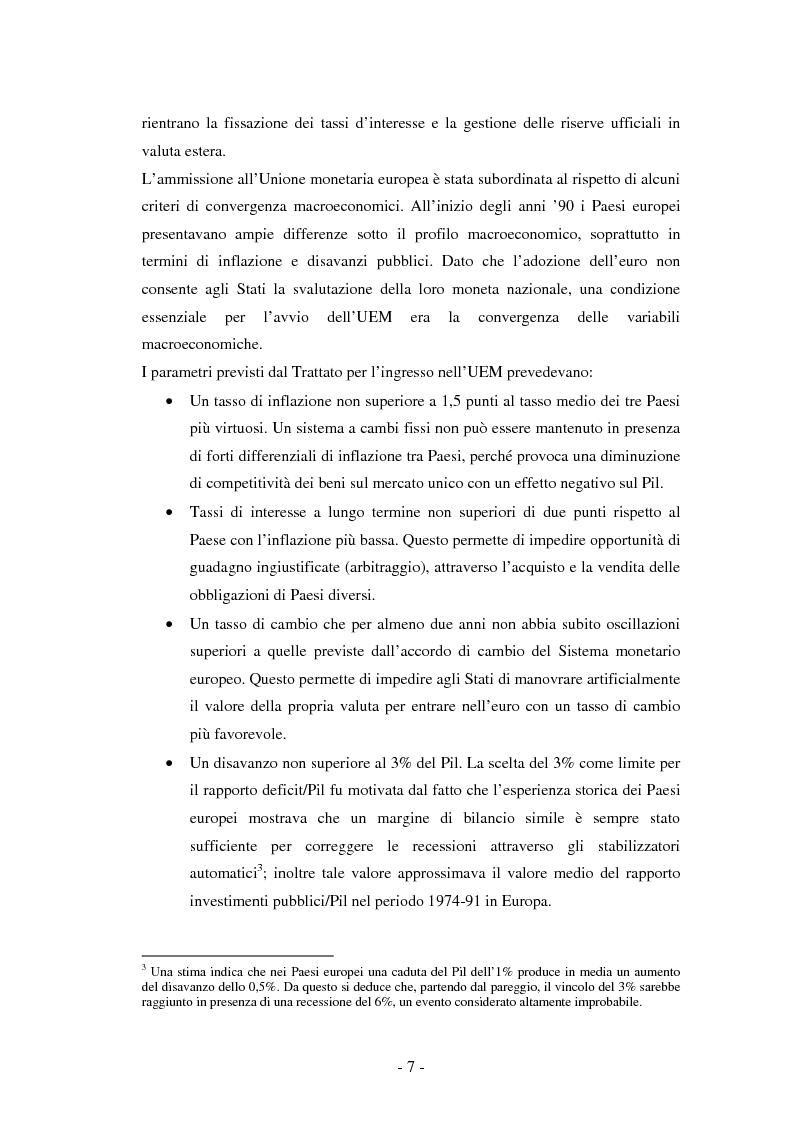 Anteprima della tesi: La riforma del Patto di stabilità, Pagina 3