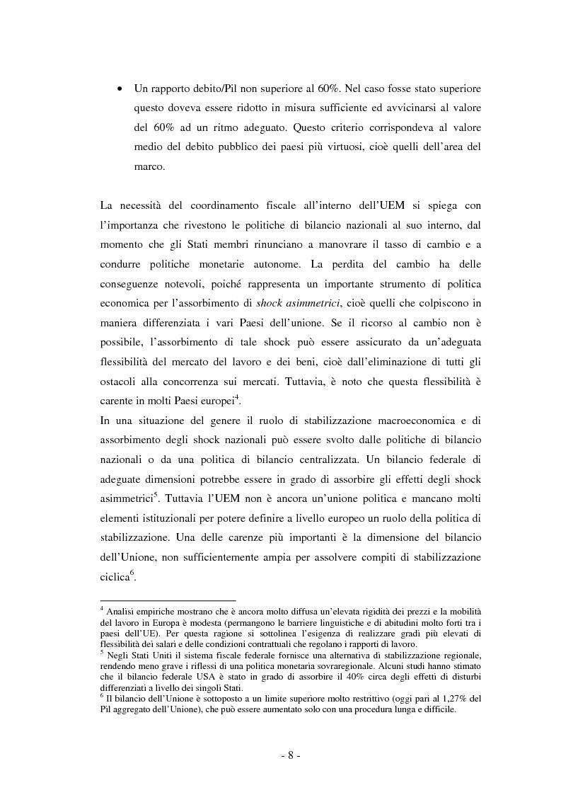 Anteprima della tesi: La riforma del Patto di stabilità, Pagina 4