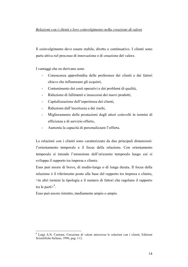 Anteprima della tesi: CRM e sistemi informativi a supporto, Pagina 10