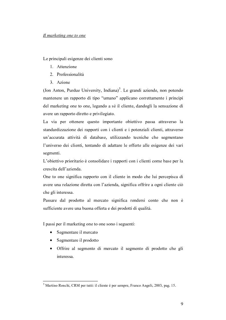 Anteprima della tesi: CRM e sistemi informativi a supporto, Pagina 5