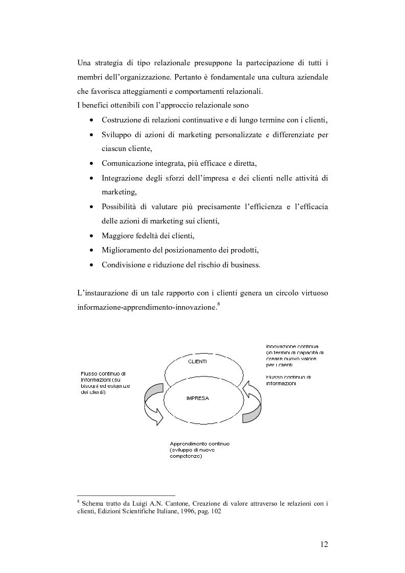 Anteprima della tesi: CRM e sistemi informativi a supporto, Pagina 8