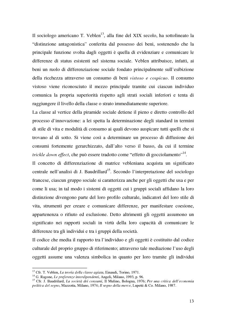 Anteprima della tesi: Prodotti tipici e turismo enogastronomico: come valorizzare un territorio, Pagina 11