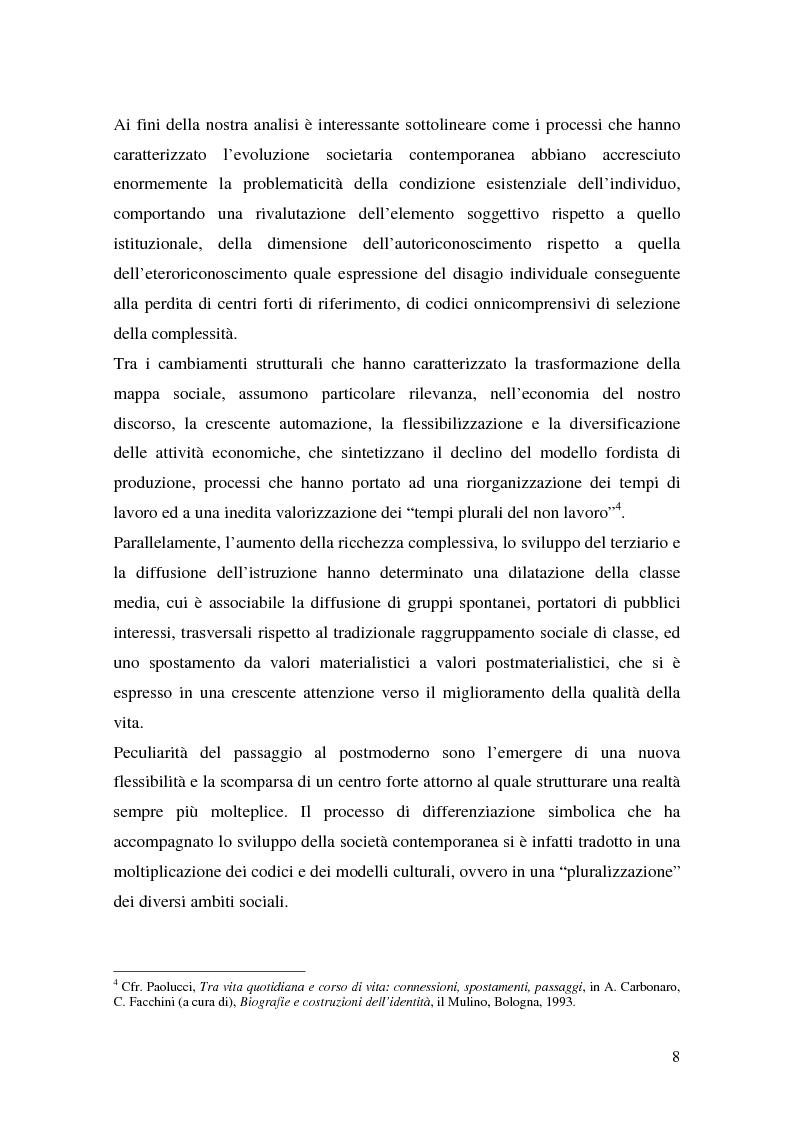 Anteprima della tesi: Prodotti tipici e turismo enogastronomico: come valorizzare un territorio, Pagina 6