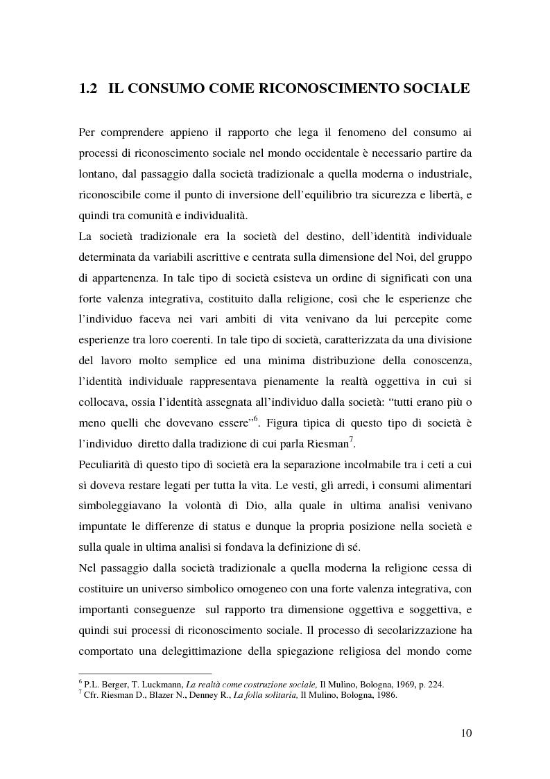 Anteprima della tesi: Prodotti tipici e turismo enogastronomico: come valorizzare un territorio, Pagina 8
