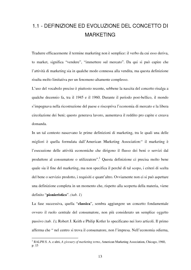 Anteprima della tesi: Il settore sportivo tra co-marketing e sponsorizzazione: il caso Ducati-Fila, Pagina 11